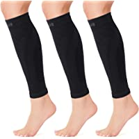 Cambivo 3 Pairs Calf Compression Sleeve for Men and Women,Leg Compression Sleeve for Running, Shin Splint, Calf Cramps…