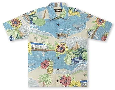 b52301c04 Image Unavailable. Image not available for. Color: Kahala Big and Tall  Kalama Hawaiian Shirt