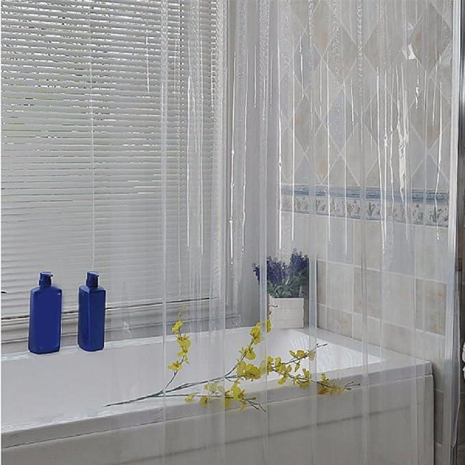 HQLCX-Shower curtain Cortinas De Ducha Engrosamiento Moho - Prueba ...
