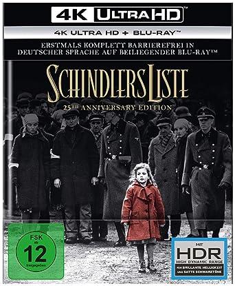 Risultati immagini per SCHINDLER'S LIST: Il capolavoro di Steven Spielberg per la prima volta in 4k Ultra HD