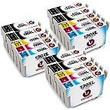 Uoopo Compatibile Sostituzione per Eposon T1301 T1302 T1303 T1304 Cartucce d'Inchiostro multipack per Epson WorkForce WF-3540DTWF WF-3010DW WF-3530DTWF WF-7015 WF-7515 WF-7525, Epson Stylus Office B42WD BX525WD BX535WD BX625FWD BX630FW BX635FWD BX925FWD BX935FWD,Epson Stylus SX525WD,Epson Stylus SX535WD, Epson Stylus SX620FW Stampante.Confezione da 15(6 Nero, 3 Ciano,3 Magenta, 3 Giallo)