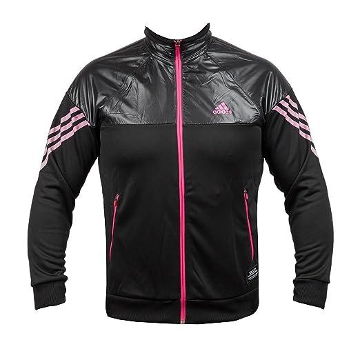 Chaqueta Negra y rosa hombre TTop Adidas, color *, tamaño XL ...