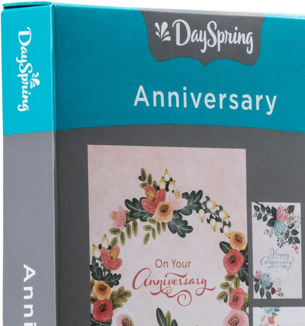 Anniversary Inspirational Boxed Cards Chalkboard