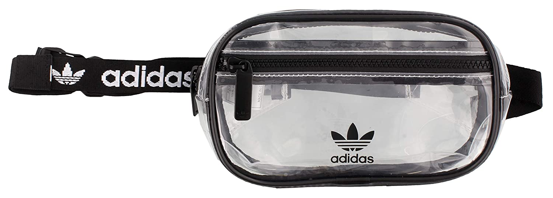 One Size adidas Originals Originals Clear Waist Pack Black