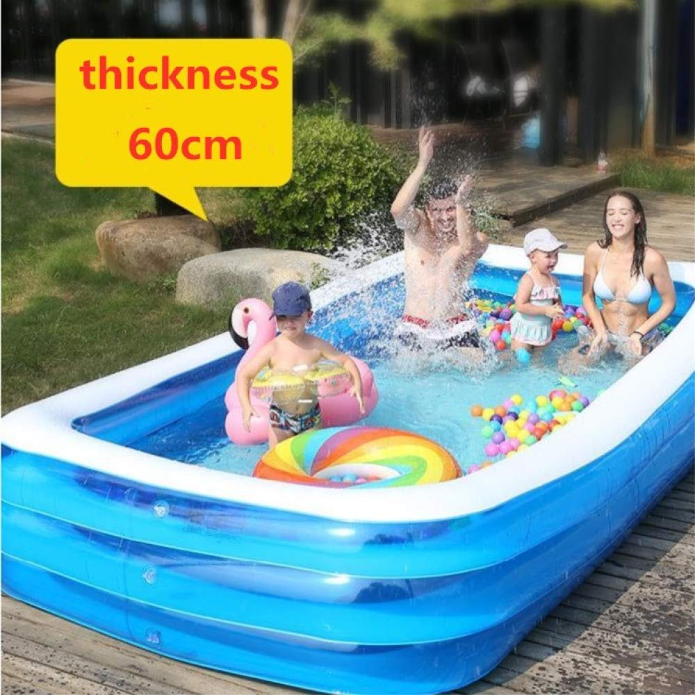 Luxury Package 1.8m lucky coco Baignoire Piscine Gonflable Piscine Gonflable, Petite Baignoire pour Enfants, Grande Taille, Multi-Fonctions