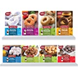 Katz Gluten Free Donuts & Donut Holes Top 8 Flavors Variety Pack   Gluten Free, Dairy Free, Soy Free, Nut Free   Powdered, Glazed, Cinnamon, Glazed Chocolate   Kosher (1 Pack of each, 8 Total))