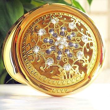Qin Schminkspiegel Make Up Spiege Kleiner Spiegel Metall