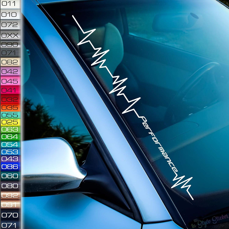 Herzschlag Performance Power Aufkleber Auto Tuningsticker Für Performance Power Autos Auto