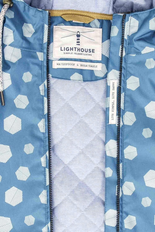LightHouse Aria Womens Waterproof Coat Ocean Deep Hex