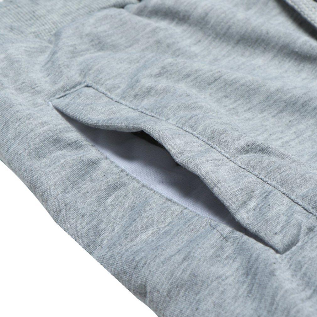 Yying Lange Sporthose f/ür Herren M/änner Bequem Elastische Taille Haremshose mit Kordelzug Mode Beil/äufig Loose Trainingshose Sweatpants Stoffhose