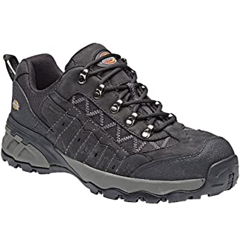 Dickies Gironde Safety Shoes FC9508BK 10S3Size 44Black B00YH1W5KG