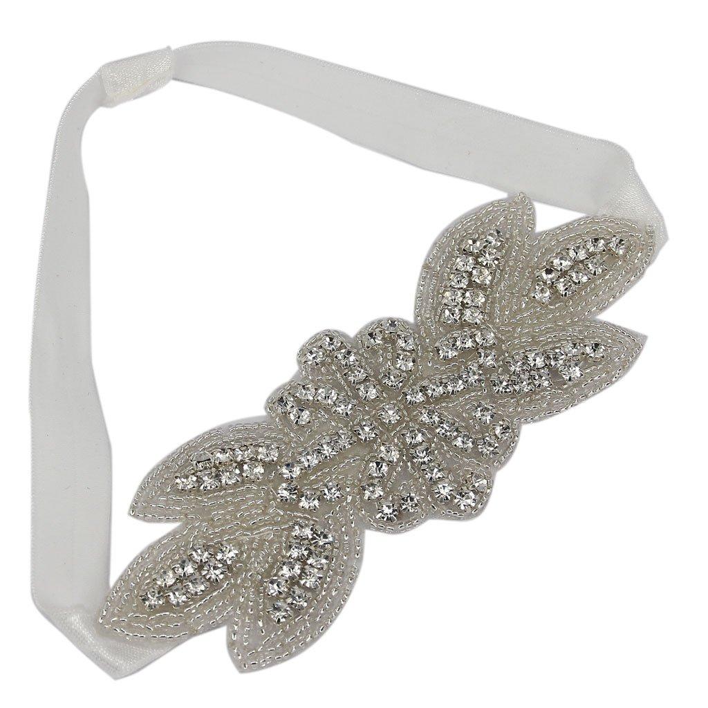 Fashion Wedding Bridal Rhinestone Headband Crystal Hair Accessory Generic STK0156001930