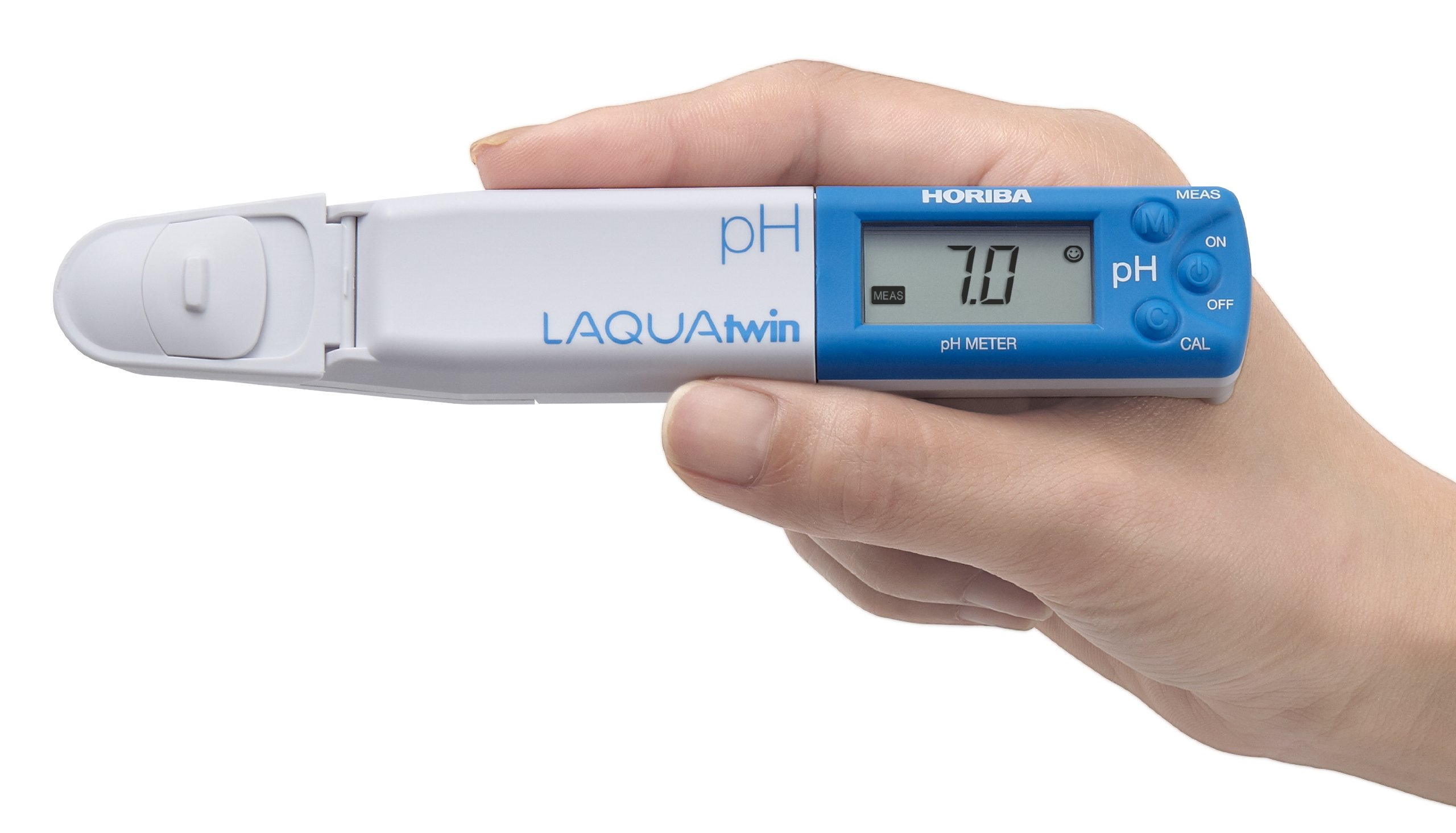Horiba 3999960122 Model pH-11 Compact pH Meter, 1.5'' Height, 4'' Width, 7.25'' Length