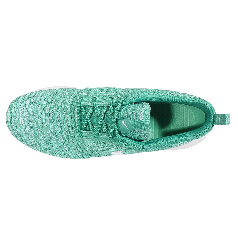 NIKE Womens Roshe One Flyknit Flyknit Colorblock Running Shoes B01MA261YK 6.5 B(M) US|Blue