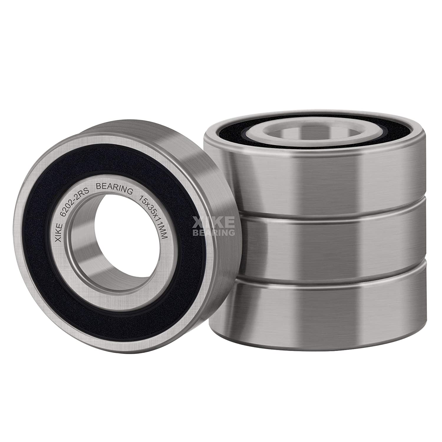 10 pack 6306-2RS Sealed Radial Ball Bearing 30X72X19