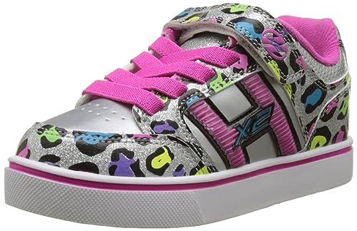 Heelys X2 Bolt, Zapatillas Unisex Niños, Varios Colores (Pink/Purple Space), 35 EU
