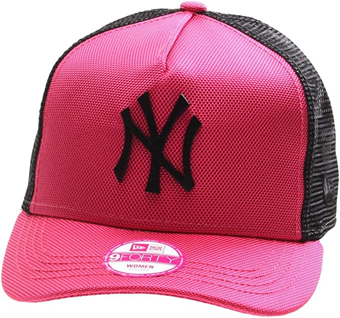 Gorra New Era – 9Forty Mlb Met Bal New York Yankees rosa/negro ...