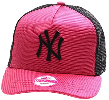 Gorra New Era - 9Forty Mlb Met Bal New York Yankees rosa/negro ...