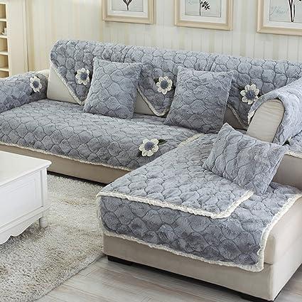 Marvelous Amazon Com Diy Floral Plush Sofa Cover Anti Wrinkling Pabps2019 Chair Design Images Pabps2019Com