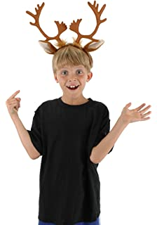 Elope Reindeer Costume Antlers Headband For Adults
