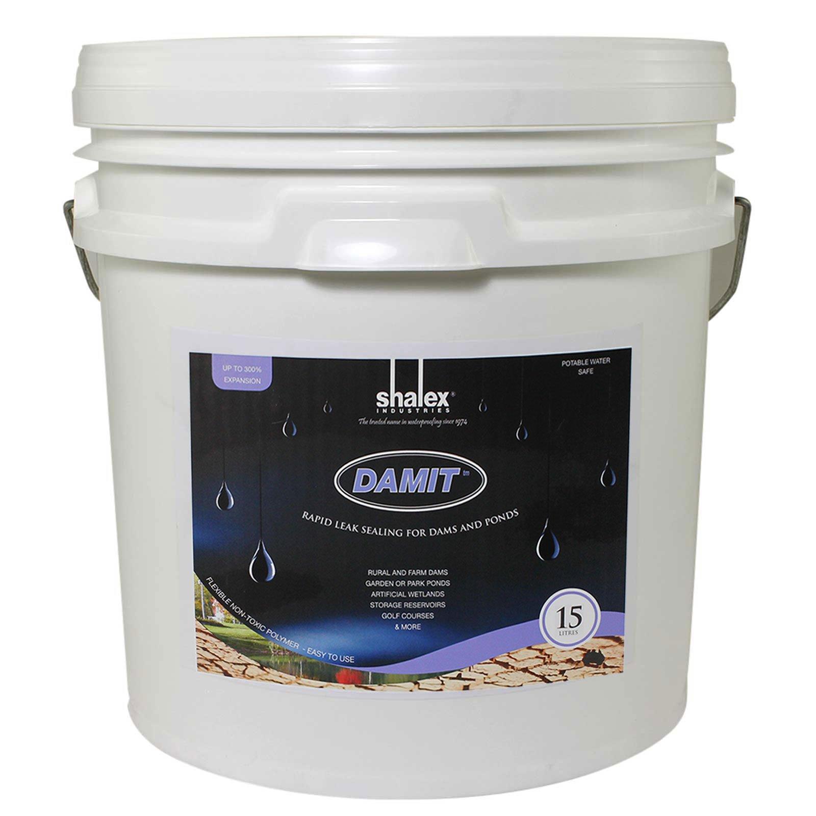 DamIt - Rapid Leak Sealer for Dams and Ponds 15L by Shalex