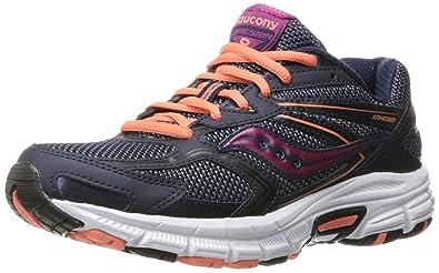 Running Shoe, Navy/Coral/Pink