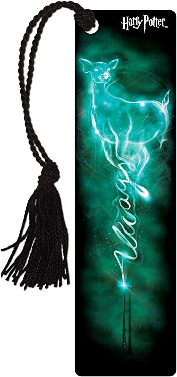 Harry Potter - Severus Snape - Always - Patronus - Glossy Bookmark with Tassel for Gifting and Collecting
