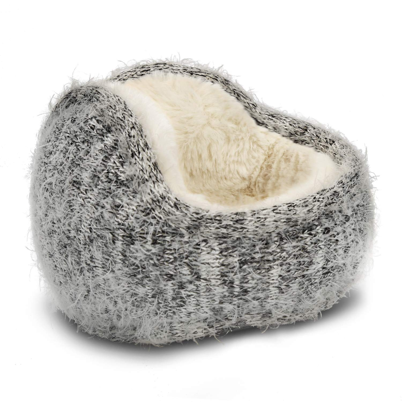 Unisex Ear Warmers Rabbit Hair Winter Ear Muffs Foldable Outdoor Earmuffs