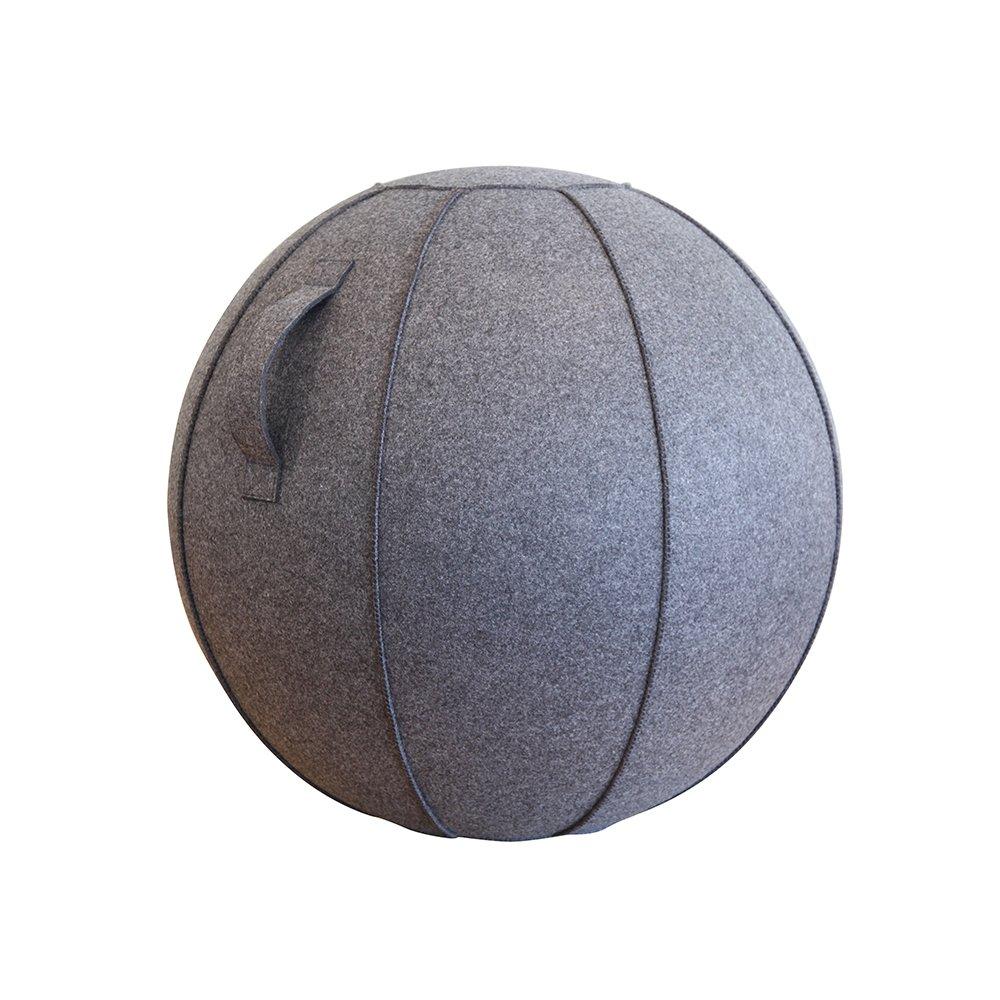 生まれのブランドで ショップジャパン バランスボール 65cm 65cm バランスボール B07FQ54752 カバー付き B07FQ54752 チャコールグレー チャコールグレー, ゴルフギアサージ:881fdbe5 --- arianechie.dominiotemporario.com