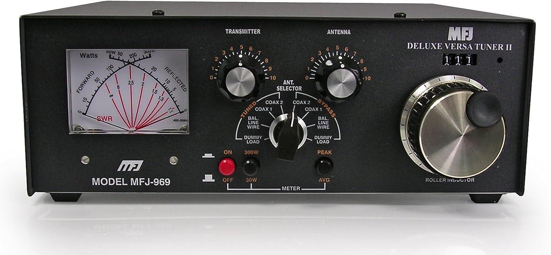 969 MFJ 300 vatios 160 m a 6 m de mesa manual sintonizador ...