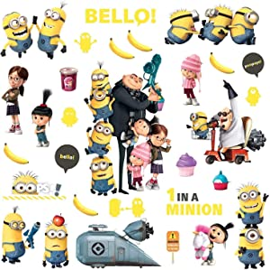 RoomMates Despicable Me 2 Peel And Stick Wall Decals