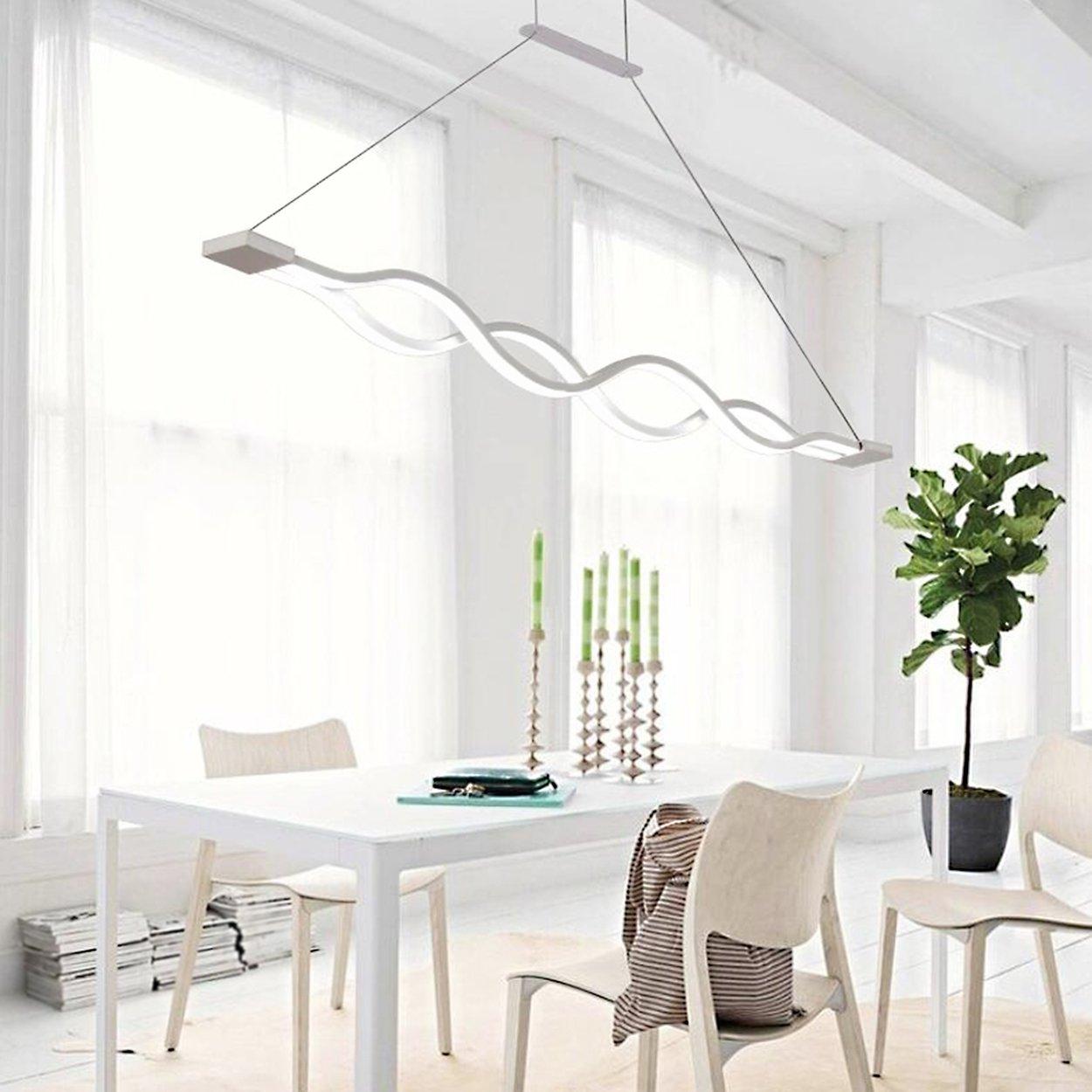KJLARS LED Pendelleuchte esstisch Hängeleuchte Wohnzimmer Küche ...