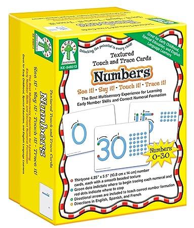 Amazon.com : Carson Dellosa Key Education Textured Touch and Trace ...