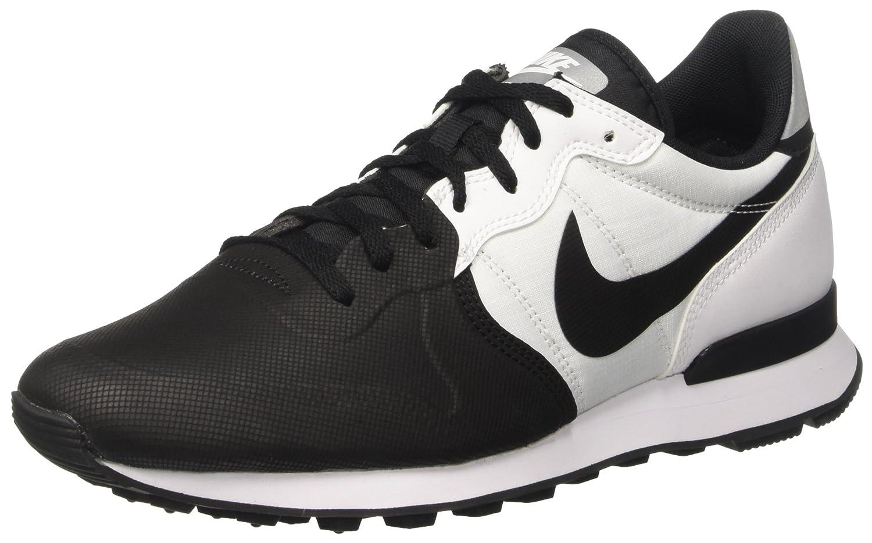Nike Herren Internationalist Prm Se Sneaker, Schwarz  41 EU|Schwarz (Black/Black/White)