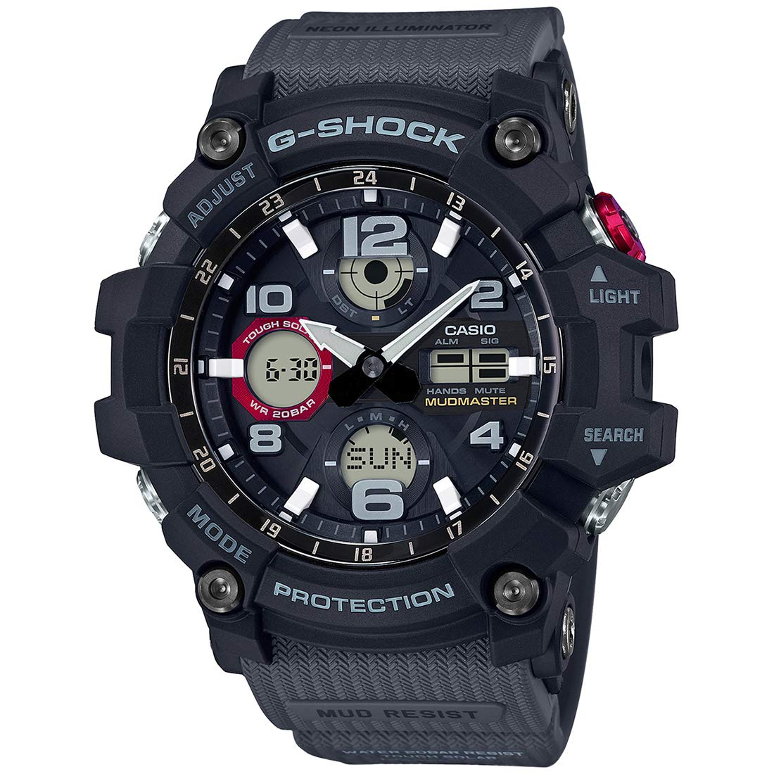 29799846eb4d Buy Casio G-Shock Analog-Digital Black Dial Men's Watch - GSG-100-1A8DR  (G832) Online at Low Prices in India - Amazon.in