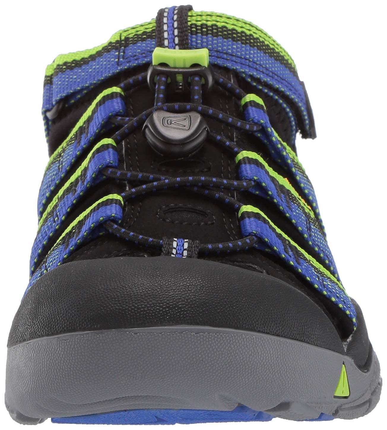 /& Wanderschuhe Hawaiian Blue//Green Glow Keen Unisex-Kinder Newport H2 Sandalen Trekking