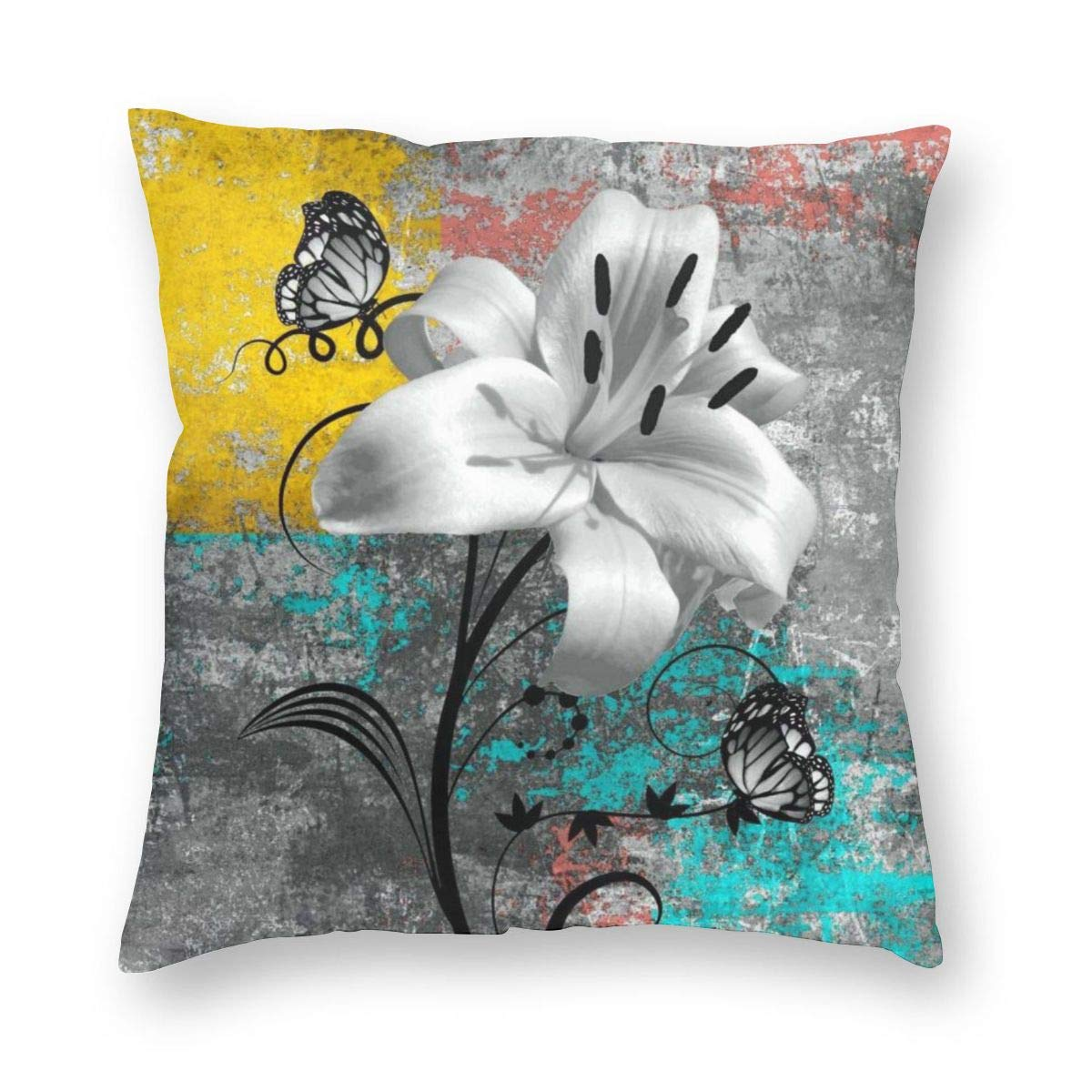 Stupendous Amazon Com Mostico Nachill Throw Pillows Case Grey Gold Beatyapartments Chair Design Images Beatyapartmentscom