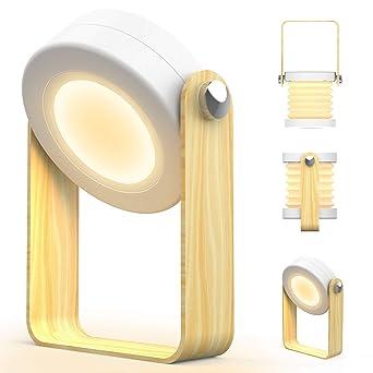 De Avec Bébé Blanche Design Chevet Led Lumiere Chambre Lampe Tactile H2IeWYED9