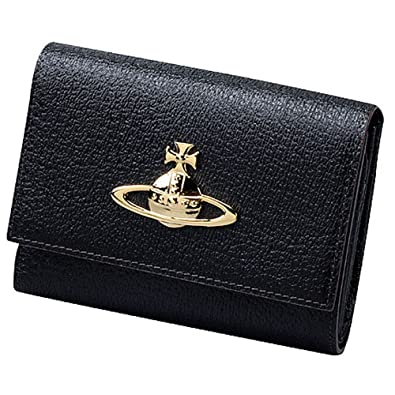 caa3d096257a Amazon   ヴィヴィアンウエストウッド Vivienne Westwood 財布 三つ折り財布 レディース EXECUTIVE LF札入  3318C93   財布