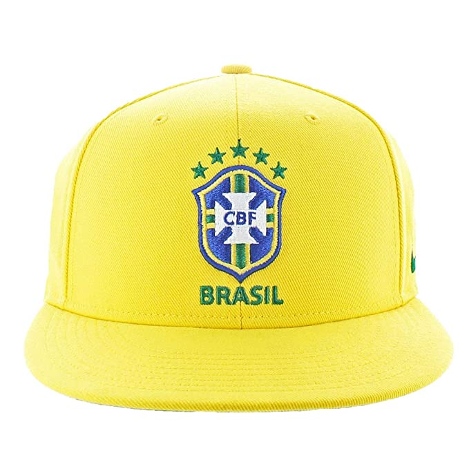 quality design 94ba7 003e4 ... where can i buy nike mens cbf brasil soccer sport snapback hat yellow o  s 7e6b0 ae59e