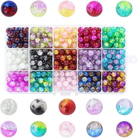 100pcs Whosesale mixed crystal glass teardrop spacer beads 8mm Fot crafts