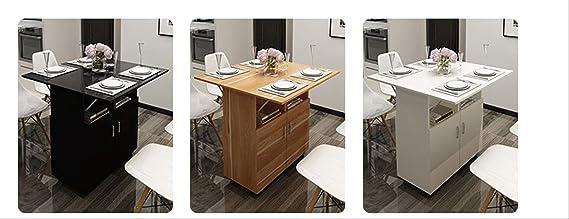 Mesa Plegable Casera Simple con Gabinete con Mesa Multifuncional ...
