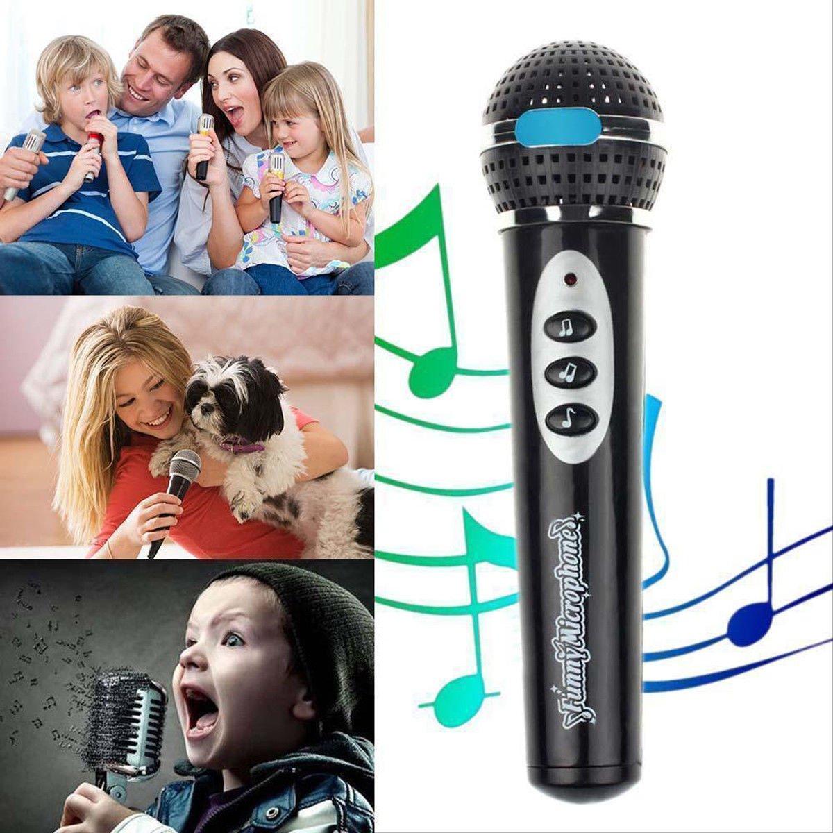yunita_1106stores Child Girls Boys Microphone Mic Karaoke Singing Kids Funny Music Toy