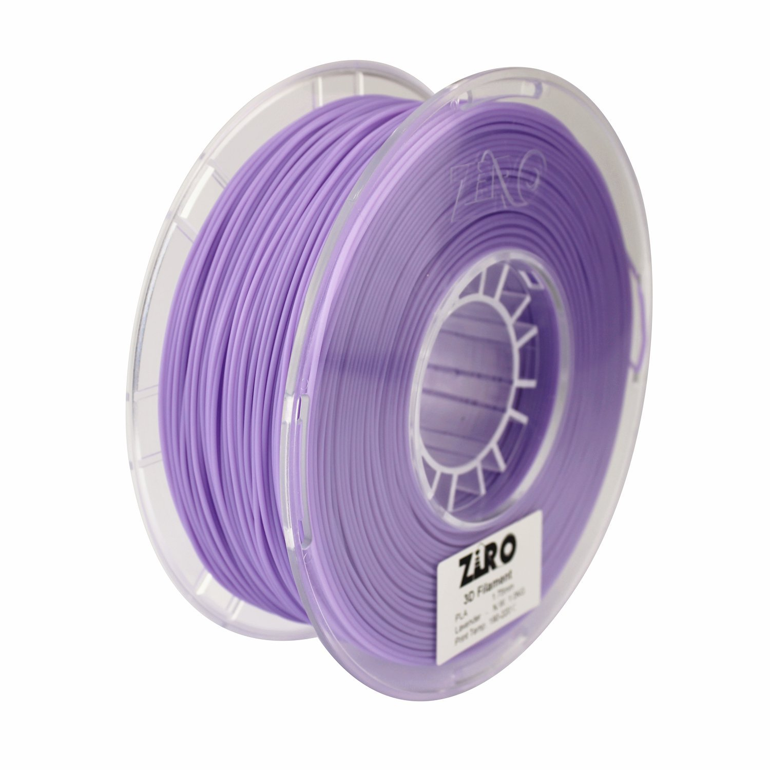 ZIRO 3D Printer Filament PLA 1.75 1KG(2.2lbs), Dimensional Accuracy +/- 0.05mm, Lavender