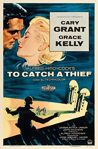 To Catch a Thief Original Movie Poster. 1955. Linen Backed at ...