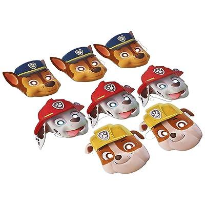 PAW Patrol Paper Masks (8): Toys & Games