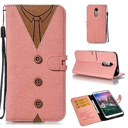 finest selection 3d781 d0acb Amazon.com: Torubia Xiaomi Redmi 5 Plus - Grip Boys Wallet Style ...