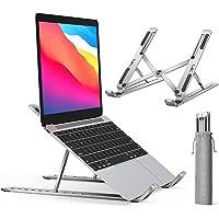 ivoler laptop stand - ergonomisk notebook stativ, gaming laptop ställ, bärbart laptop stativ hållare ventilerad för…