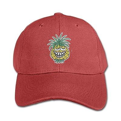 Elephant AN Funny Pineapple Pure Color Baseball Cap Cotton Adjustable Kid Boys Girls Hat