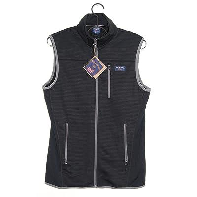 Bill's Khakis Fleece Lined Vest Black For Golf, Hiking, Fishing, Running